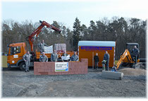 Zuverlässigkeit rund um den Bau seit 100 Jahren: Bauunternehmen Bayersdorfer aus Marbach.