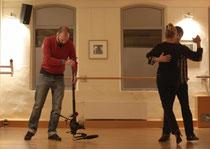 Kollege Kleeberger hält seine Tanzpartnerin falschrum!!!