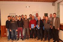 treue Mitglieder des SSV Allendorf
