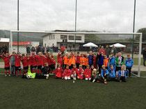 Erstplatzierte F-Jugendteams