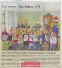 Kinder des Mike Sportabzeichen 2012