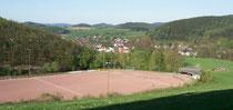 """Sportplatz """"Im Hespel"""" vor dem Umbau"""