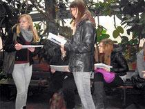 Bio-Leistungskurs auf Exkursion in Köln