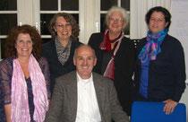 v.l.n.r.: Anette Weidler, Ruth Mereien-Gürke, Gereon Kohl, Bettina Bulitta-Steimer, Anemone Heles