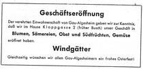 Windgätter 1955