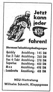 NSU Schmitt 1955