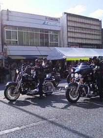 ゲート2フェスタ バイクパレード