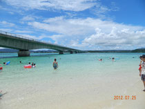 古宇利大橋とビーチ
