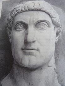 Monumentalkopf des Konstantin, Konservatorenpalast, Rom