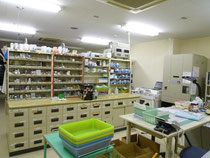 調剤室風景
