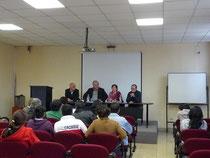 la presentazione per l'universita` di Cuenca