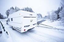 Winterwohnwagen