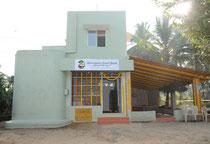 Les locaux d'Annadana à Ishana