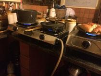 La cuisine de Suzanna, au biogaz