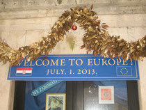 Banderole à Dubrovnik