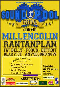 Pressemeldung zur Verlegung des Sound Pool Festivals