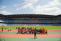 2013年8月のKFAキッズサッカーフェスティバルU-9に参加したときの様子