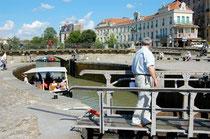 canal du midi - port de Carcassonne