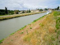 Le Canal du Midi à Trèbes/Aude en juillet 2011