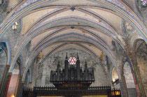 L'ancienne cathédrale de Mirepoix (Ariège)