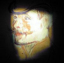 Portrait de M.Warren par Toulouse-Lautrec