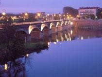 die Garonne in Toulouse