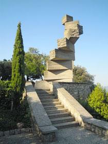 Subirach, L'échelle de l'entendement (Montserrat/Catalogne)