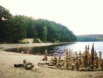 le Lampy lac de barrage pour alimenter le canal du midi