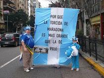 Die Stille nach dem Tor (in Buenos Aires)