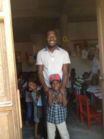 "Padre Paulo, der Initiator des Projekt ""Bom Esperanca"" in den Baraccas"