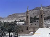 circuit egypte Saint Antoine et Saint Paul, monastères