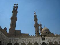 El Azahr minarets