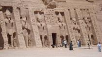Le petit temple d'Abou Simbel