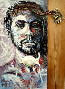 Riccardo Antonelli and G.M.Zago-cm 100x70-2010
