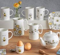 Helen Russell Flower garden ceramics