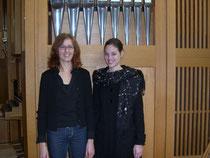Silvia Wagner und Regula Mühlemann