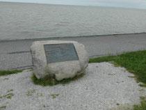 Gedenkstein versunkene Dörfer