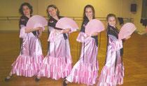 Les danseuses d'Isadora font leur spectacle à Saverdun.