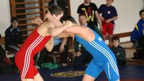 auch Marius trug mit einem Sieg gegen Jakob Barth zum Sieg gegen Aue / Markneukirchen bei