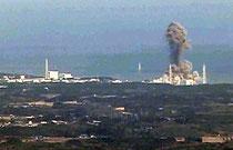 Explosion des AKW Fukushima