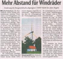 Artikel in der Neue Westfälische / Lippische Landeszeitung