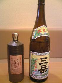 三岳と原酒屋久杉