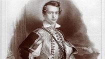 Der junge Prinz Otto I.