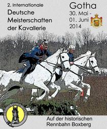Deutscher Kavallerieverband Kavalleriemeisterschaften 2014