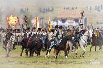 Deutscher Kavallerieverband, Reenactment Völkerschlacht bei Leipzig 2014, Rossfoto Dana Krimmling