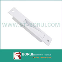 BR.043 PVC Sliding Window Handle, Flush Lock Handle