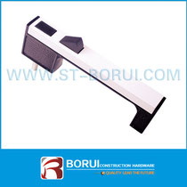 BR.022 Aluminium Sliding Window Handle, Button Locking Handle