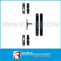 BR.610 Aluminum Sliding Door Lock, Multipoint Lock with Flush Handle