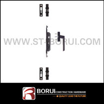 BR.607 Aluminum Sliding Door Lock, Multipoint Lock with Handle