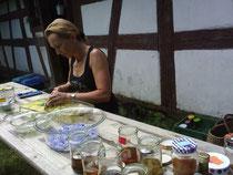 Herstellung von Tinkturen